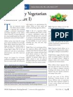 Healthy Vegetarian Part 1