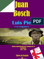 Luis Pie y Los Vengadores Por Juan Bosch