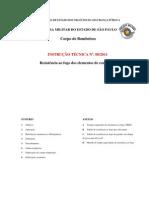 INSTRUÇÃO TÉCNICA Nº 08-2011 Resistência ao fogo dos elementos de construção - final