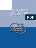 DGWA - Draft Guidelines for the Reuse of Greywater in Western Australia