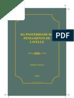 Américo Pereira - Da Posteridade do Pensamento de Louis Lavelle