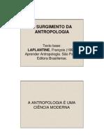 o Surgimento Da Antropologia-2