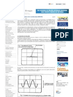 Medindo Tensões com o osciloscópio (INS018)