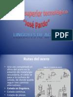 Expo Sic Ion Lingotes de Acero