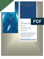 La Metamorfosis de La Educacion Actual