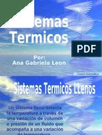 Sistemas Termicos -AnaGabriela
