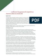 A Ascencao Dos Governos de Esquerda Na America Latina No Seculo XXI - 1