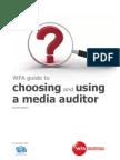 Choosing and Using Media Auditor