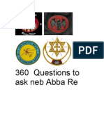360 Questions to Ask Abba Re