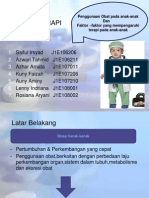 FARMAKOTERAPI Pediatrik Kel 1