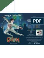 Cirque du Soleil Quidam Groups 12+