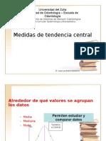 5.- Medid Tend Central Dispersion