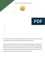 Wekeza Maisha Offer Document