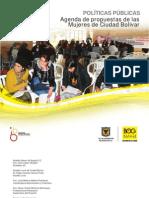 Agenda de propuestas de las Mujeres de Ciudad Bolívar