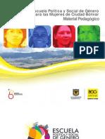 Escuela Política y Social de Género para las Mujeres de Ciudad Bolívar (Material Pedagógico)