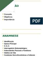 Avaliaçao Inicial Anamnese