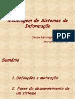 Modelagem de Sistemas de Informacao - UML