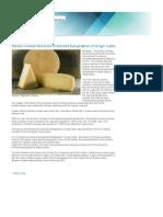 Nanos Cheese Receives Protected Designation of Origin Label|Urad vlade za komuniciranje