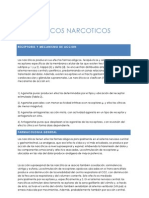 ANALGESICOS NARCOTICOS
