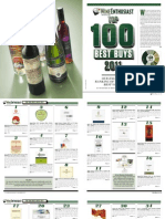 Wine Enthusiast Top100 Best Buys 2011