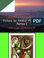Pictura Lui Pablo Picasso (Partea I)