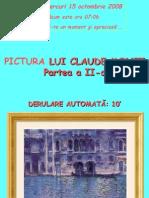 Pictura Lui Claude Monet (Partea a II-A 48 Diapozitive