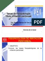 peritoneo y afecciones