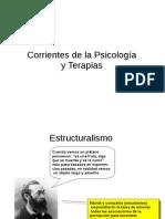 Corrientes y Terapias en Psicología