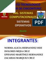 1.4 Clasificacion de Los Sistemas Operativos