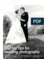 50 Tips for Wedding Photo