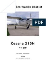 Cessna 210 Handling Notes