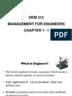 DEM 312 Chapter 1 i