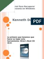 Tutorial Para Recuperar Contraseña en Windows