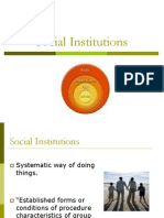 Social Institutions Final