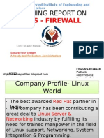 Firewall in Perl by Chankey Pathak
