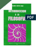 Introducción a La Filosofía - Manuel Guillermo Repetto Milán