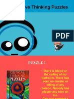 10 Creative Puzzles