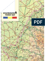 harta turistica România