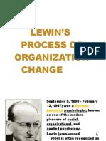 Lewin's Process of Organization Change 2 - Copy