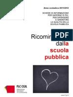 Fascicolo Informativo Flc Cgil Su Avvio Anno Scolastico 2011 2012 Settembre 2011