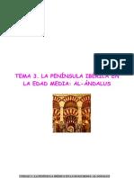 Unidad 3.- La península Ibérica en la edad media al andalus