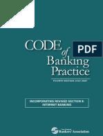 Code of Banking Practice