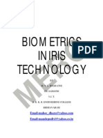 Biometric in Iris Technology