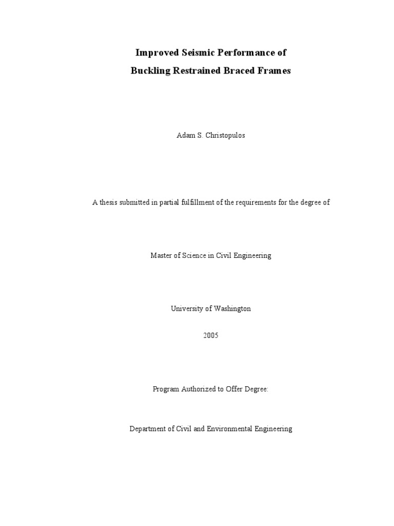 Adam Christopulos Thesis (BRB Reference-BRB04) | Thesis | Beam ...