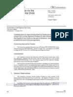 Barnrättskommittens concluding observations 2011