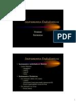 Instrumentos endodonticos 2010
