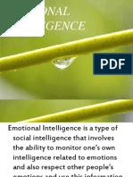 PPT Emotional INtelligence