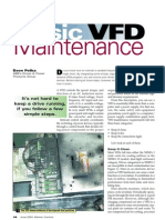 VFD maintence