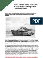 400 US-Kampfpanzer M1A1Abrams