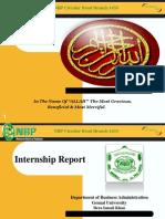 NBP Report Presentation